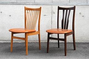小阪氏の試作による日進オリジナル椅子第1号です