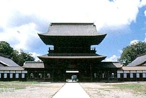 高岡市瑞龍寺の修復工事の写真