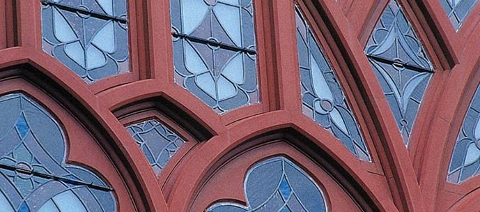 聖ヨハネ教会 窓枠復元工事