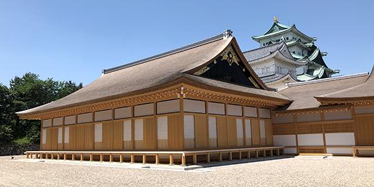 名古屋城本丸御殿 復元工事